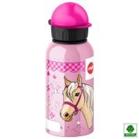 Botella aluminio hermética Caballo 400 ml
