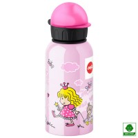 Botella aluminio hermética Princesa 400 ml