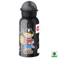 Botella aluminio hermética Pirata 400 ml