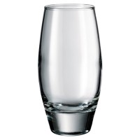 Vaso cristal transparente abombado 500 ml