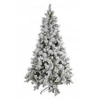 Arbol Navidad nevado Pusteria h150cm 422 ramas