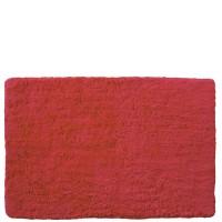Alfombra de baño lisa roja 40x60cm