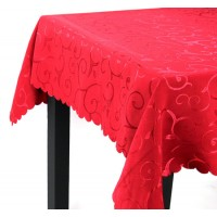 Mantel antimanchas rojo 220x140cm