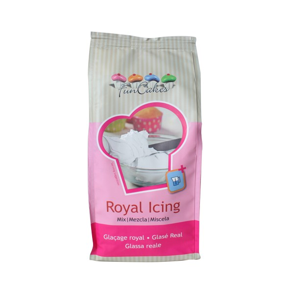 Mezcla mix para elaborar Royal Icing (Glasa Real) Funcakes 500gr