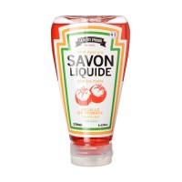 Jabón liquido de baño bote de ketchup 250ml
