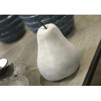 Pera decorativa piedra grande 15h cm