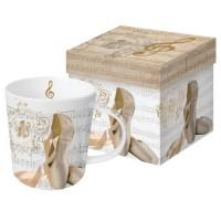 Mug decorado zapatillas Concerto Ballet PPD 35cl