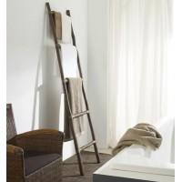 Escalera toallero madera teca 5 peldaños 50x200cm