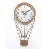 Reloj metálico de sobremesa o pared Globo 35x6x68,50h cm
