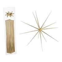 Adorno colgante Navidad Estrella metálica grande Ø58 cm