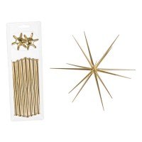 Adorno colgante Navidad Estrella metálica pequeña Ø35 cm