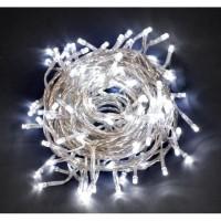 Cadena guirnalda luz navidad 180 luces led color blanco 11,20m.