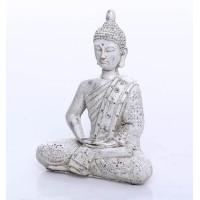 Figura cemento Buda gris sentado 22x11x28 m