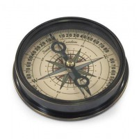 Brújula metal Marine Directional Compass 8,5cm