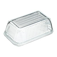 Mantequera cristal vintage Kitchen Craft 17x10.5x7 cm