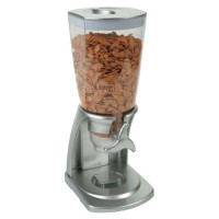 Dispensador de cereales gris ABS Iris 1,7 litros