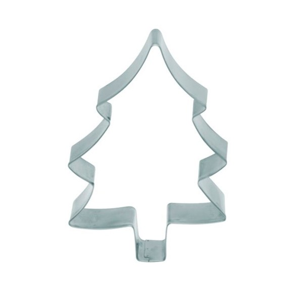 Cortador metálico forma Árbol Navidad grande 12,5cm