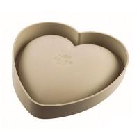 Molde silicona 3D Corazón 20cm Batticuore Silikomart