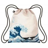 Bolsa Mochila Museum Hokusai The Great Wave Backpack Loqi