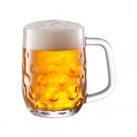 Jarra cristal para cerveza My Beer Salute! 500 ml