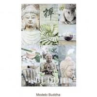 Cuadro fotoimpresión acabado brillante imagen Buda 2 modelos 60x90 cm