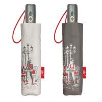 Paraguas plegable con funda automático estampado ciudad Chic 2 modelos Ø97 cm