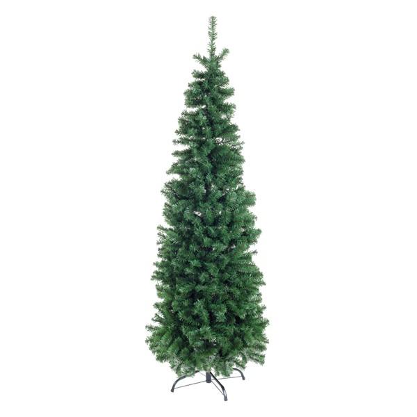 Arbol Navidad verde Slim Fanes 180h cm 728 ramas