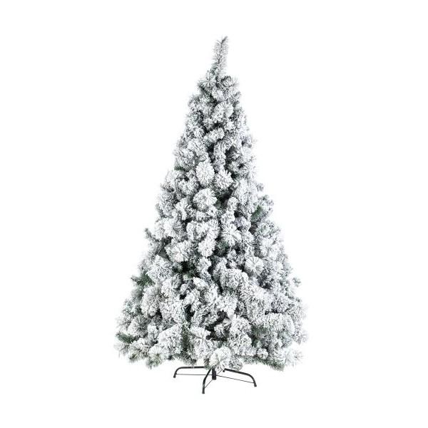 Arbol de Navidad nevado Cermis 340 ramas altura 150cm