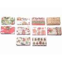 Jabón de baño vegetal en pastilla sin colorantes Estampado Navidad 10 fragancias 150gr