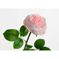 Rosa inglesa flor artificial mini Gala rosa 36h cm