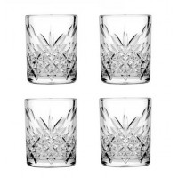Pack 4 vasos cristal tallado Timeless 345cc