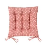 Cojín para silla cuadrado luz-luna rosa 40x40x5 cm